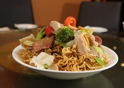 Combination Fried Noodles at Noodle House Mitcham