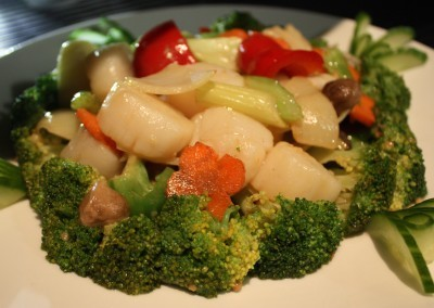 Stir Fried Scallops with Broccoli