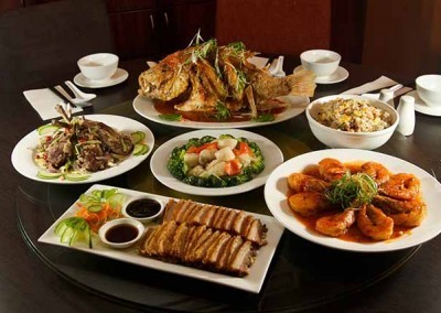 A selection of sumptuous dishes at Noodle House Mitcham